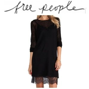 """NWT Free People """"Jane Eyre Twofer Sweater Dress"""""""